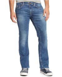 Guess - Bootcut Folsom Blues-wash Jeans - Lyst