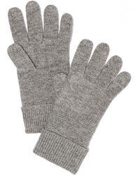 Rag & Bone Adrienne Gloves gray - Lyst