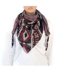 Artillerylane Vortice 235 Scarf with Leather Laces - Lyst