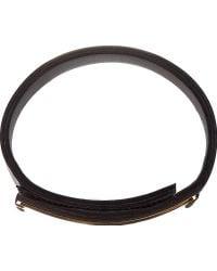 Marni Black Leather Cuff - Lyst