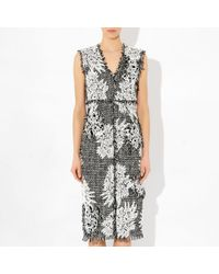 Erdem Astrid Dress Tweed - Lyst