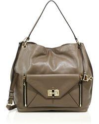 Diane von Furstenberg | 440 Gallery Secret Agent Leather Hobo Bag | Lyst