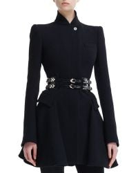 Alexander McQueen Doublerow Slidingcharm Belt - Lyst