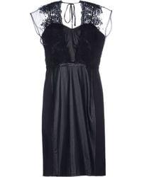 Catherine Deane Black Short Dress - Lyst