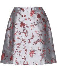 Erdem Gia Jacquard Skirt - Lyst