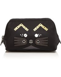 Marc By Marc Jacobs - Screwed Up Faces Gato Framed Big Bliz Cosmetic Case - Lyst