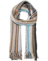 Missoni Zig-Zag Knit Scarf - Lyst