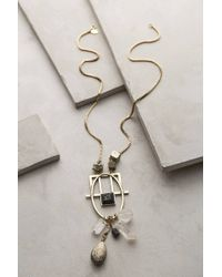 Anthropologie Hebrides Geo Pendant Necklace - Lyst