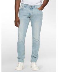 Calvin Klein | Jeans Slim Leg Poolside Wash Jeans | Lyst