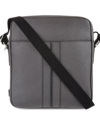 Tod's Small Leather Messenger Bag - Lyst