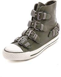 Ash Vodka High Top Sneakers Prune - Lyst