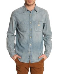 Denim & Supply Ralph Lauren Denim Light Used Shirt - Lyst