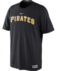 Nike Mens Shortsleeve Pittsburgh Pirates Drifit Tshirt - Lyst