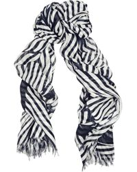Stella McCartney Modal and Silk-blend Scarf - Lyst