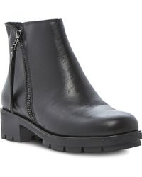 Dune Phoebe Chunky Ankle Boots Black - Lyst