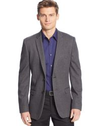 Calvin Klein Unstructured Knit Slim-fit Sport Coat - Lyst