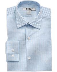 DKNY Checkered Sport Shirt - Lyst