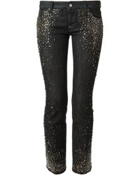 DSquared2 Skinny Studded Jeans - Lyst