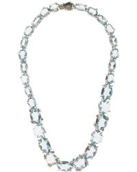 Alexis Bittar Fine - Silver Blue Quartz Set Necklace - Lyst