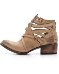 Freebird by Steven - Stair Booties - Taupe - Lyst