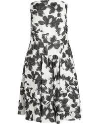 Thakoon Strapless Cotton and Silk-blend Jacquard Dress - Lyst