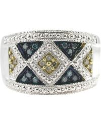 Tia Collections - .925 Multicolor Cocktail Ring - Lyst