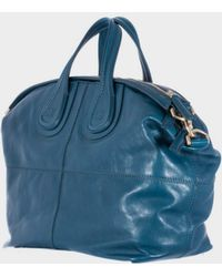 "Givenchy Petrol Medium ""Nightingale"" Bag blue - Lyst"