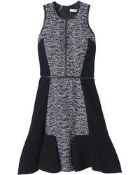 Rebecca Taylor Textured Dress - Lyst
