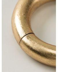 Monies - Metallic Bangle - Lyst