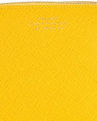 Smythson - Panama Leather Cosmetics Bag - Lyst