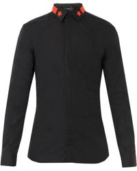 Givenchy Star and Stripecollar Shirt - Lyst