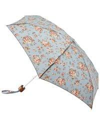 Cath Kidston - Tiny Folding Westbourne Rose Print Umbrella - Lyst