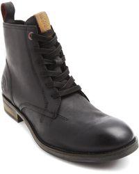 Tommy Hilfiger Darren Black Zipped Boots - Lyst