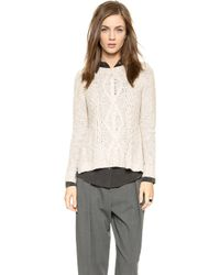 Madewell Marled Place Sweater - Marled Flax - Lyst
