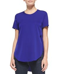 3.1 Phillip Lim Overlapping Side Seam Blouse - Lyst