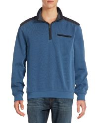 Bugatti - Half-zip Sweater - Lyst