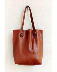 BDG Basic Leather Tote Bag - Lyst