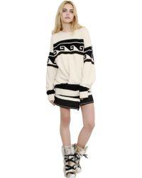 Isabel Marant Oversized Techno Wool Blend Sweater - Lyst