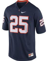 Nike Mens Virginia Cavaliers Replica Football Game Jersey - Lyst