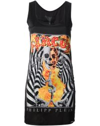 Philipp Plein Optical Seduction Tank Top - Lyst