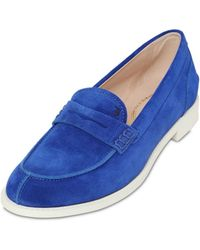 Tod's 20Mm Vk Suede Loafers - Lyst