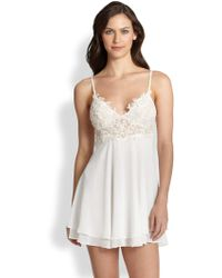 Jonquil Sabrina Double-Layer Chemise - Lyst