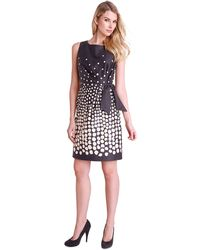 Tahari Petite Kathleen Gradient Dot Sheath Dress - Lyst