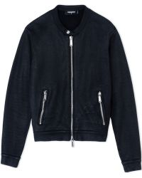 DSquared² Zip Sweatshirt black - Lyst