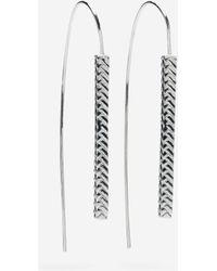 Cole Haan | Basket Weave Wire Earring | Lyst