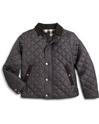 Burberry Little Boys Luke Quilted Jacket - Lyst