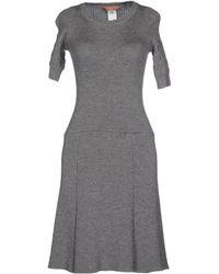 L'Autre Chose Knee-Length Dress gray - Lyst