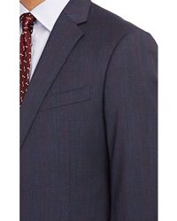 Armani Glen Plaid M Line Two-Button Suit - Lyst