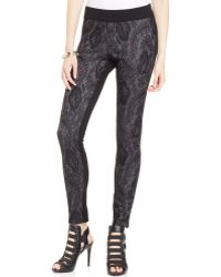 Jessica Simpson Ashby Patterned Skinny Pants - Lyst