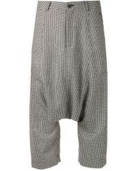Comme Des Garçons Tweed Pants - Lyst
